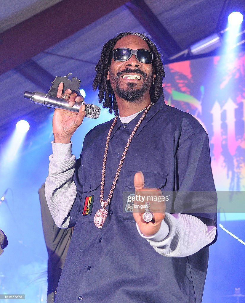 Rapper Snoop Lion (<a gi-track='captionPersonalityLinkClicked' href=/galleries/search?phrase=Snoop+Dogg&family=editorial&specificpeople=175943 ng-click='$event.stopPropagation()'>Snoop Dogg</a>) performs during LionFest and the 2013 SXSW Music Festival at Viceland on March 14, 2013 in Austin, Texas.