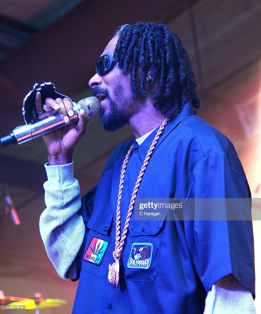 Rapper Snoop Lion (Snoop Dogg) performs during LionFest and the 2013 SXSW Music Festival at Viceland on March 14, 2013 in Austin, Texas.