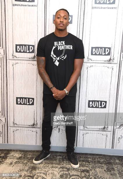 Rapper songwriter and producer Lecrae visits Build series to discuss his album 'All Things Work Together' at Build Studio on August 29 2017 in New...