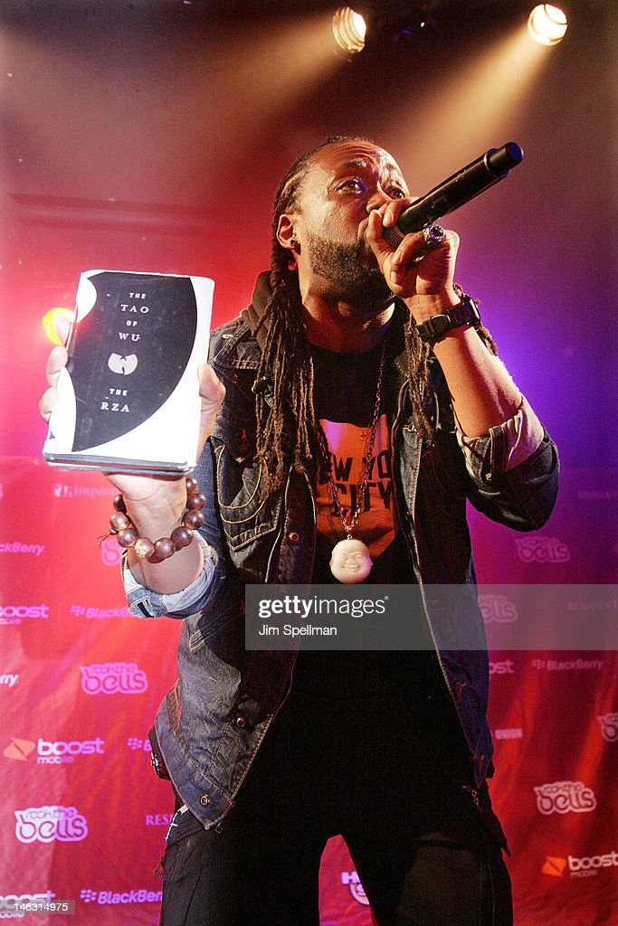 Rapper Supernatural performs during the 2012 Rock The Bells Festival Press Conference And Fan Appreciation Party on June 13, 2012 in New York City.