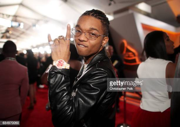 Rapper Swae Lee of Rae Sremmurd attends The 59th GRAMMY Awards at STAPLES Center on February 12 2017 in Los Angeles California