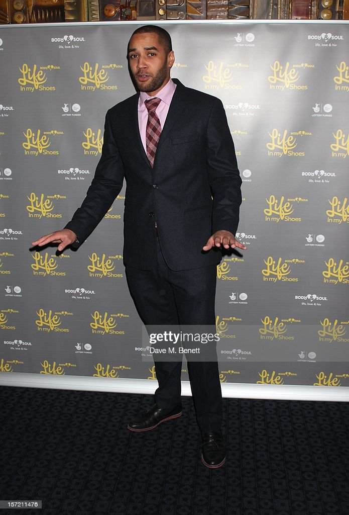 Rapper Sway attends the Undefeated UK Film Premiere on November 29, 2012 in London, England.