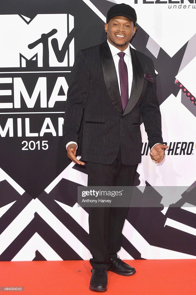 Rapper Sway Calloway attends the MTV EMA's 2015 at the Mediolanum Forum on October 25, 2015 in Milan, Italy.