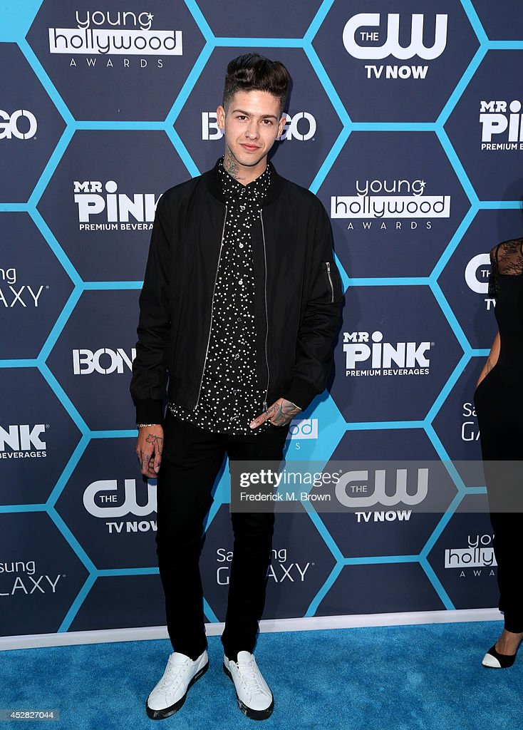 Rapper T. Mills attends the 2014 Young Hollywood Awards brought to you by Samsung Galaxy at The Wiltern on July 27, 2014 in Los Angeles, California.