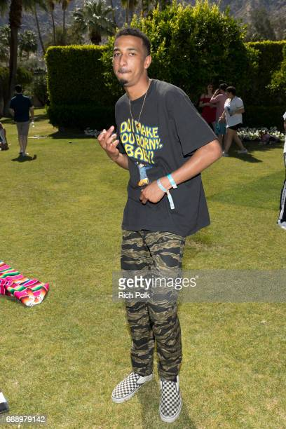 Rapper Taco attends the Interscope Coachella House on April 15 2017 in Palm Springs California