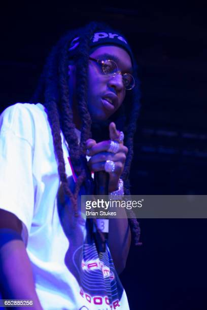 Rapper Takeoff performing at Echostage on March 12 2017 in Washington DC