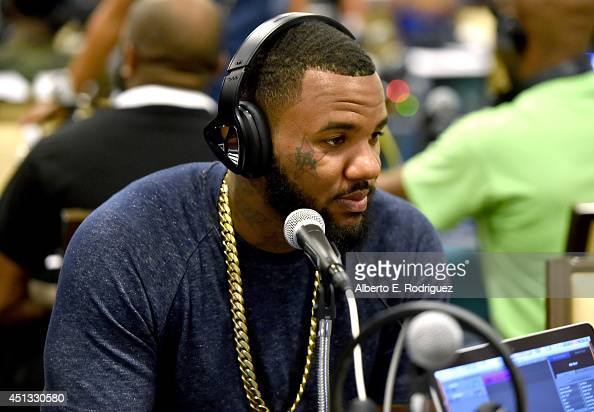 Rapper The Game attends day 1 of the Radio Broadcast Center during the BET Awards '14 on June 27 2014 in Los Angeles California