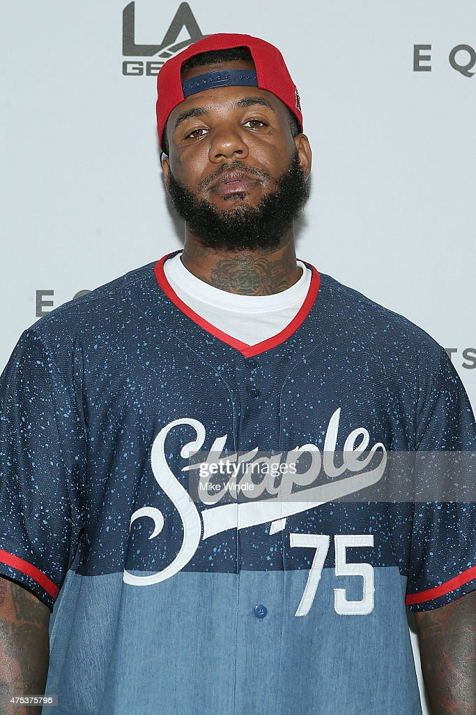 Rapper The Game attends the Equinox 'Celebrity Basketball Spectacular' To Benefit Sports Spectacular on May 30 2015 in West Los Angeles California