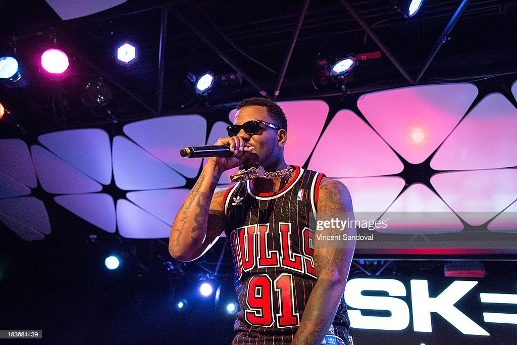 Rapper The Game Performs For SKEE Live At The Conga Room At L.A. Live On  October