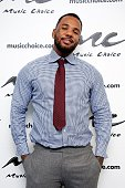 Rapper The Game visits Music Choice on September 23 2015 in New York City
