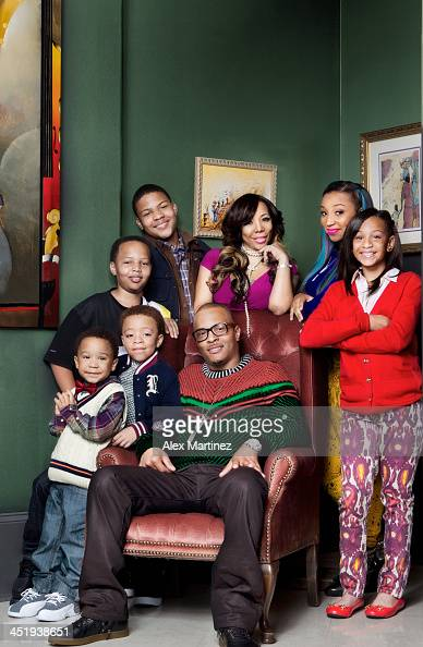 Rapper TI and family are photographed for In Touch Weekly on September 18 2012 in Atlanta Georgia PUBLISHED IMAGE