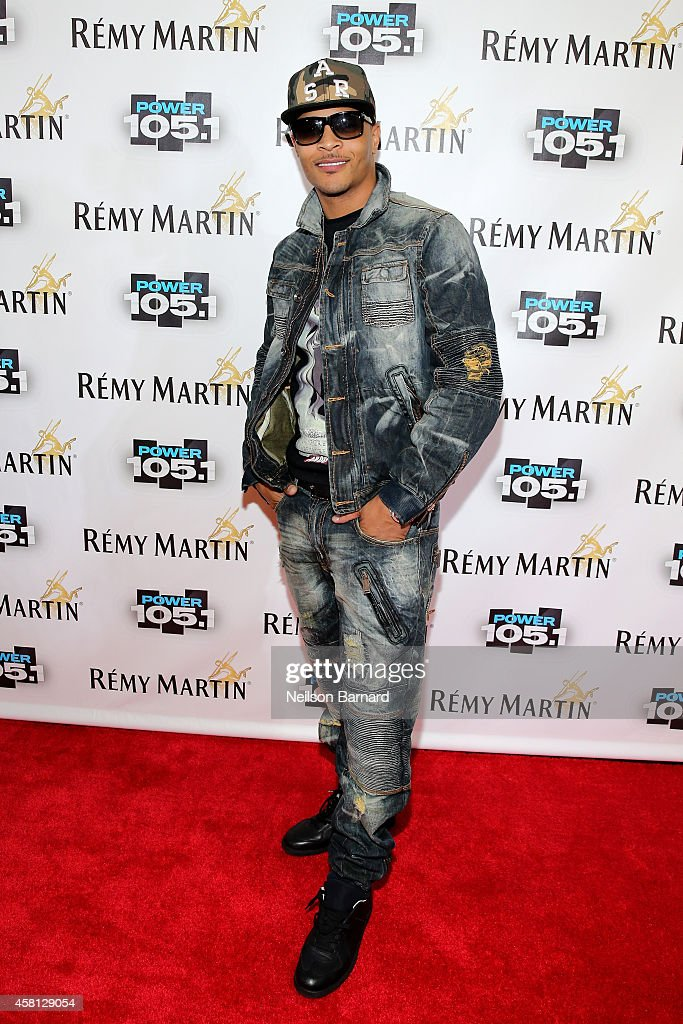 Rapper <a gi-track='captionPersonalityLinkClicked' href=/galleries/search?phrase=T.I.&family=editorial&specificpeople=221599 ng-click='$event.stopPropagation()'>T.I.</a> attends Power 105.1's Powerhouse 2014 at Barclays Center of Brooklyn on October 30, 2014 in New York City.