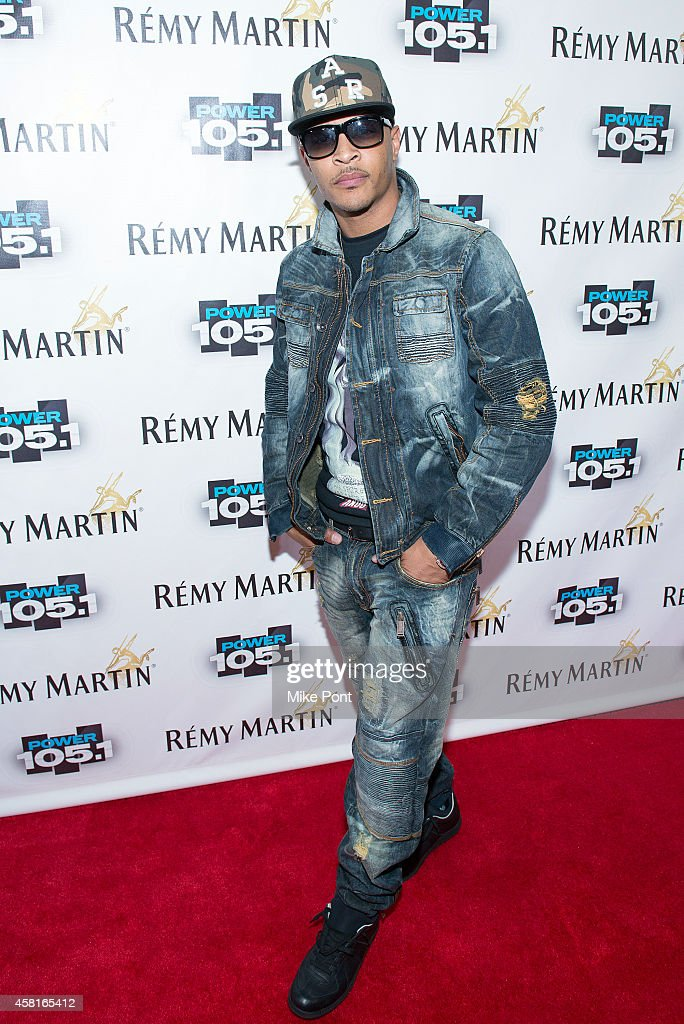 Rapper T.I. attends Power 105.1's Powerhouse 2014 at Barclays Center on October 30, 2014 in New York City.