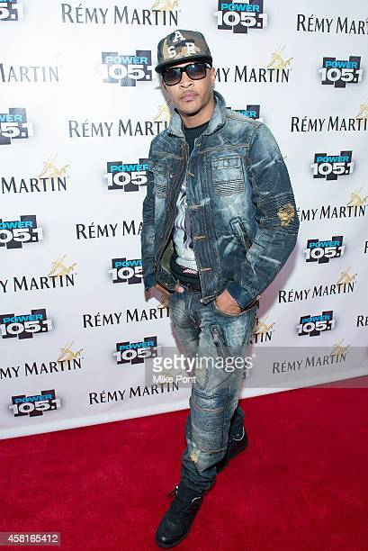 Rapper TI attends Power 1051's Powerhouse 2014 at Barclays Center on October 30 2014 in New York City