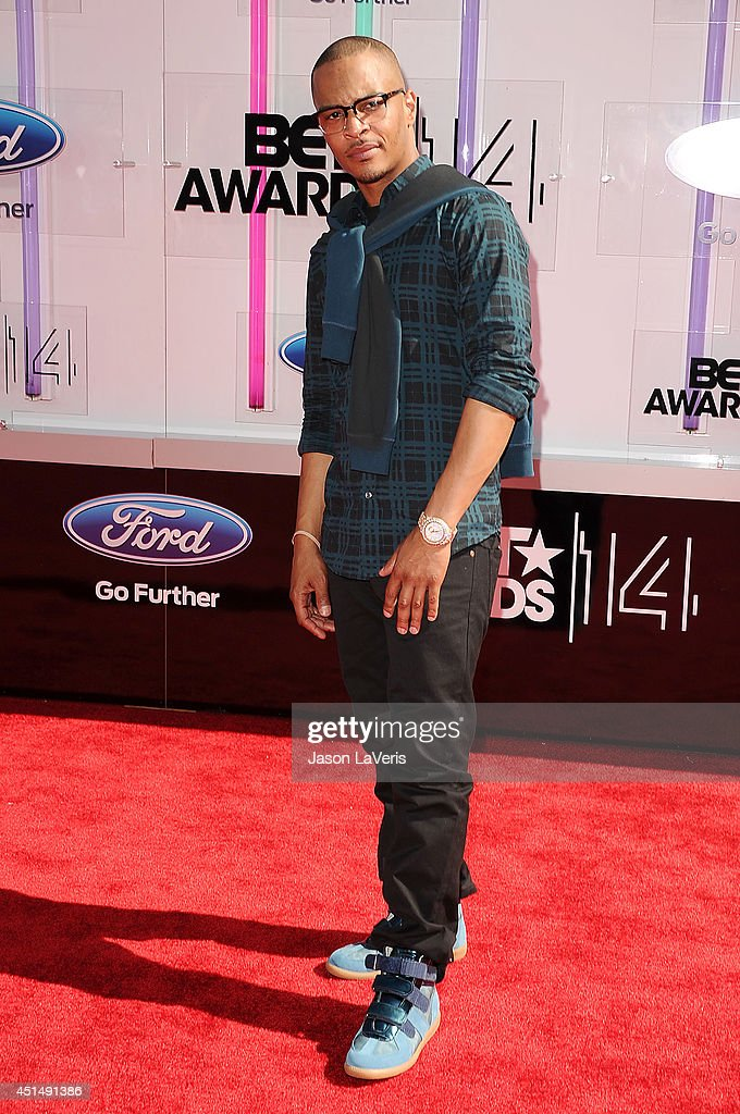 Rapper TI attends the 2014 BET Awards at Nokia Plaza LA LIVE on June 29 2014 in Los Angeles California