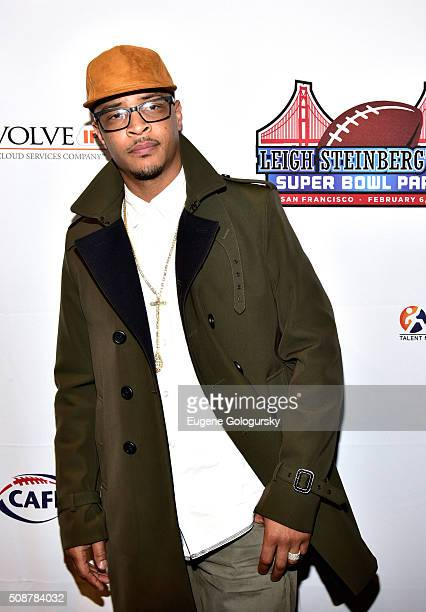 Rapper TI attends the 29th Annual Leigh Steinberg Super Bowl Party on February 6 2016 in San Francisco California