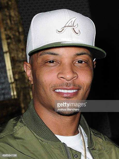 Rapper TI attends the Watch The Duck and Friends EP Release Party at The Attic on November 23 2015 in Hollywood California