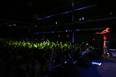 Rapper TI performs at the kickoff concert for AWXI at Terminal 5 on September 29 2014 in New York City