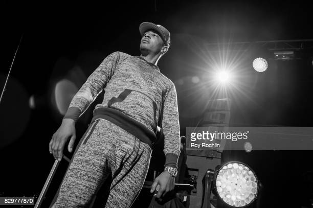 Rapper TI performs during the 9th Annual 212NYC Summer Party at Pier 16 on August 10 2017 in New York City