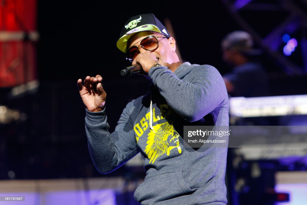 Rapper <a gi-track='captionPersonalityLinkClicked' href=/galleries/search?phrase=T.I.&family=editorial&specificpeople=221599 ng-click='$event.stopPropagation()'>T.I.</a> performs onstage at Power 106's Valentine's Day concert at Nokia Theatre L.A. Live on February 14, 2013 in Los Angeles, California.