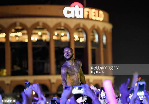 Rapper Tory Lanez performs onstage during the Meadows Music And Arts Festival Day 2 at Citi Field on September 16 2017 in New York City