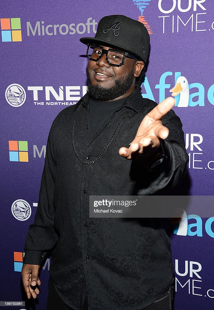 Rapper T-Pain attends the Inaugural Youth Ball hosted by OurTime.org at Donald W. Reynolds Center on January 19, 2013 in Washington, United States.