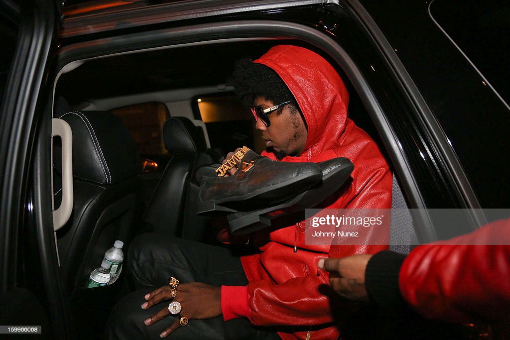 Rapper Trinidad James attends Open Mic Night with Trinidad James at Public Assembly on January 23, 2013 in New York City.