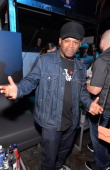 Rapper TV personality Sway Calloway attends MLBcom AllStar Bash sponsored by Firestone Captain Morgan White Rum and Buffalo Wild Wings at Epic on...
