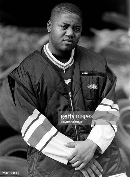 Rapper Twista poses for photos on location in Chicago Illinois in September 1994