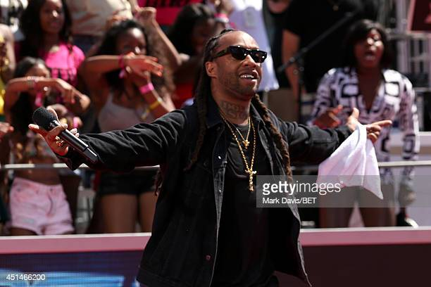 Rapper Ty Dolla $ign attends the BET Awards PreShow during the 2014 BET Experience At LA LIVE on June 29 2014 in Los Angeles California