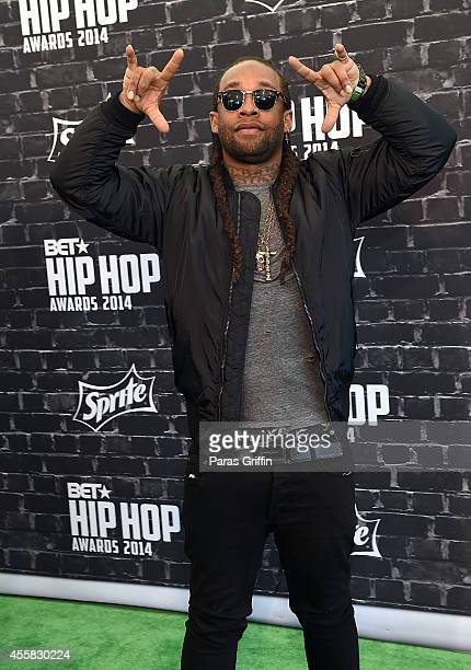 Rapper Ty Dolla $ign attends the BET Hip Hop Awards 2014 at Boisfeuillet Jones Atlanta Civic Center on September 20 2014 in Atlanta Georgia