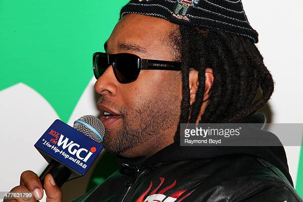 Rapper Ty Dolla $ign is interviewed in the WGCI 'Sprite Lounge' in Chicago Illinois on MARCH 06 2014