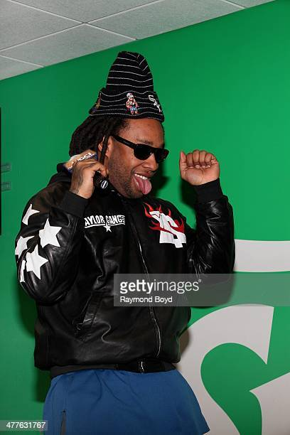 Rapper Ty Dolla $ign performs in the WGCI 'Sprite Lounge' in Chicago Illinois on MARCH 06 2014