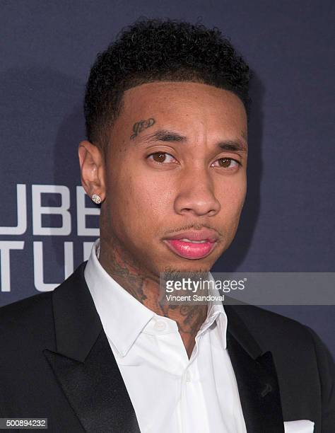 Rapper Tyga attends Trina's Kid's Foundation 2nd Annual Runway Wonderland Holiday Charity benefiting The Boys Girls Clubs of America at Hubble Studio...