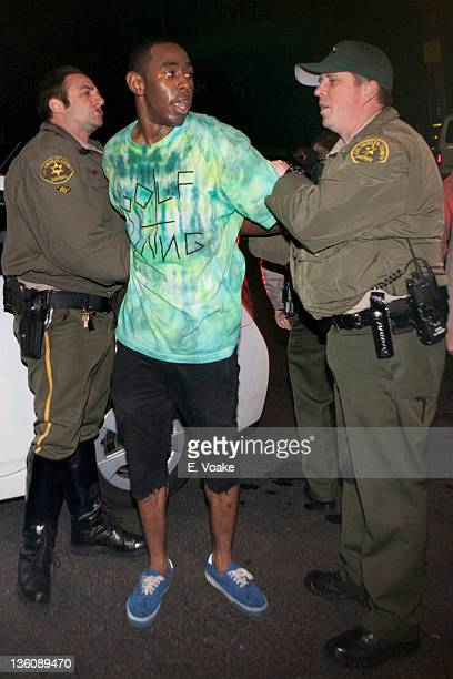Rapper Tyler The Creator is arrested for investigation of vandalism charges after performing at the Roxy Theatre in the early morning hours of...