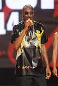 Rapper Uncle Snoop performs onstage during the BET Hip Hop Awards 2014 at Boisfeuillet Jones Atlanta Civic Center on September 20 2014 in Atlanta...