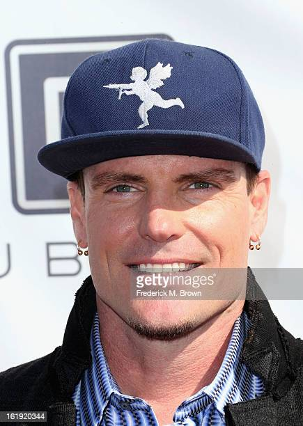 Rapper Vanilla Ice attends the 3rd Annual Streamy Awards at Hollywood Palladium on February 17 2013 in Hollywood California