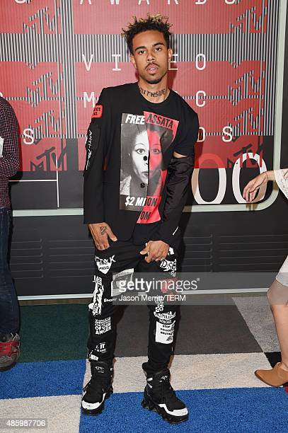 Rapper Vic Mensa attends the 2015 MTV Video Music Awards at Microsoft Theater on August 30 2015 in Los Angeles California