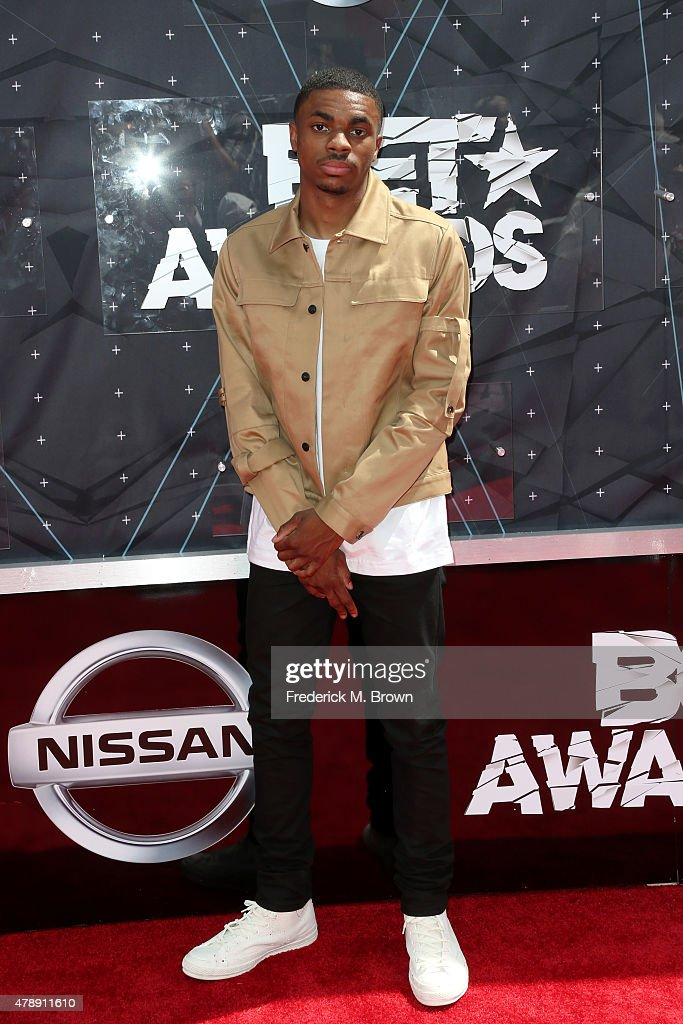 Rapper Vince Staples attends the 2015 BET Awards at the Microsoft Theater on June 28 2015 in Los Angeles California