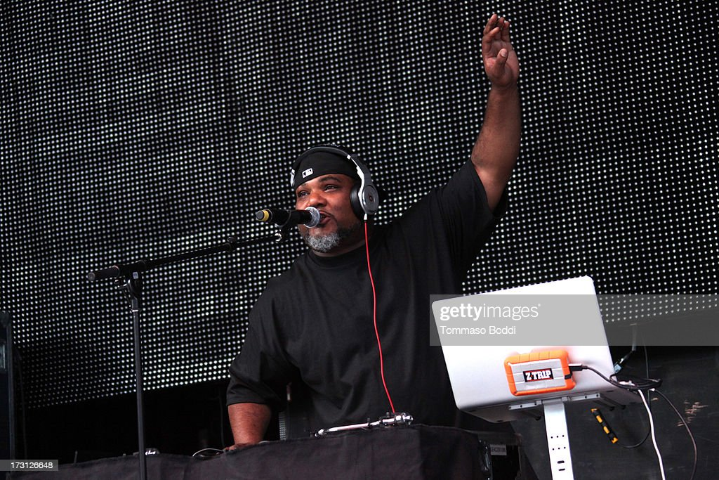Rapper Vincent Mason of De La Soul performs at the Kings Of The Mic Tour held at The Greek Theatre on July 7, 2013 in Los Angeles, California.