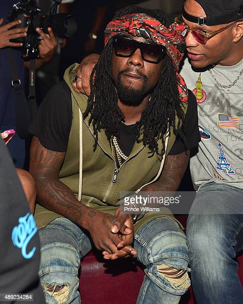 Rapper Wale attends 2 Chainz Birthday Celebration at Compound on September 14 2015 in Atlanta Georgia