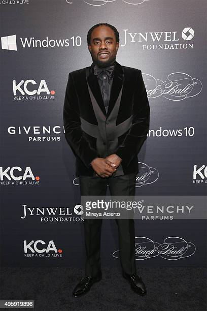 Rapper Wale attends 2015 'Keep A Child Alive' Black Ball at Hammerstein Ballroom on November 5 2015 in New York City