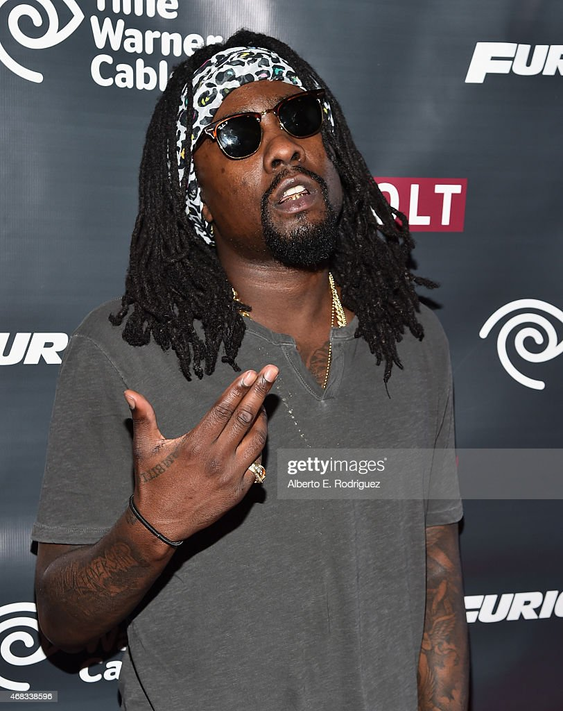 Rapper Wale attends Revolt Live Hosts Exclusive 'Furious 7' Takeover with Musical Performances From the Official Motion Picture Soundtrack at Revolt...