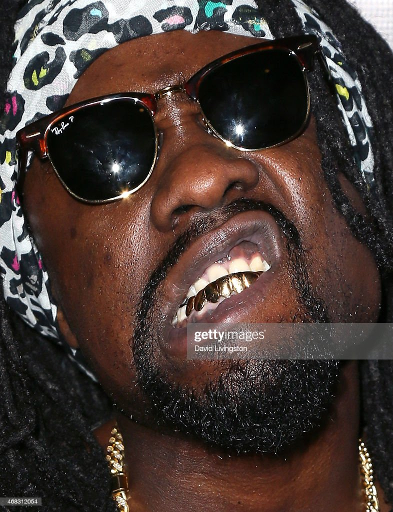 Rapper Wale attends the exclusive 'Furious 7' Takeover with musical performances from the official movie soundtrack hosted by Revolt Live at Revolt...