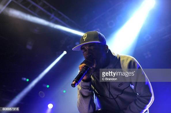 Rapper Wiley performs on stage at KOKO on September 16 2016 in London England