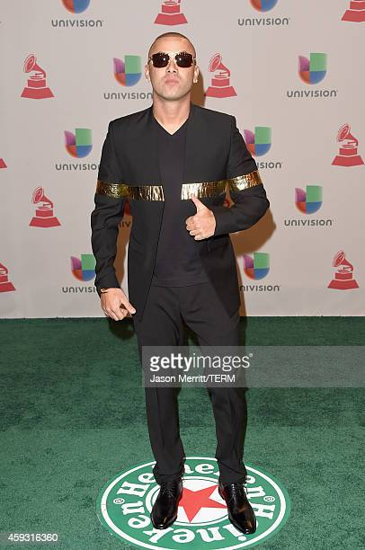Rapper Wisin attends the 15th Annual Latin GRAMMY Awards at the MGM Grand Garden Arena on November 20 2014 in Las Vegas Nevada