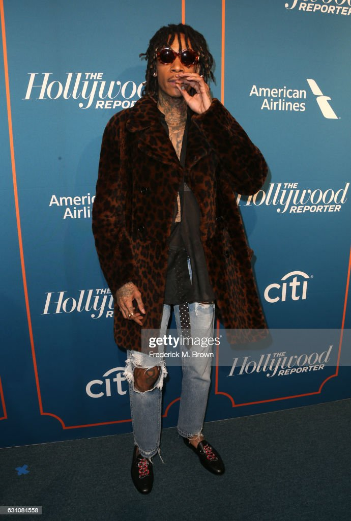 Rapper Wiz Khalifa attends The Hollywood Reporter 5th Annual Nominees Night at Spago on February 6, 2017 in Beverly Hills, California.