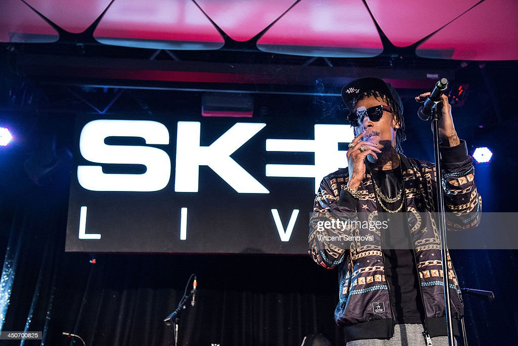 Rapper Wiz Khalifa Performs During SKEE Live At The Conga Room At L.A. Live  On November