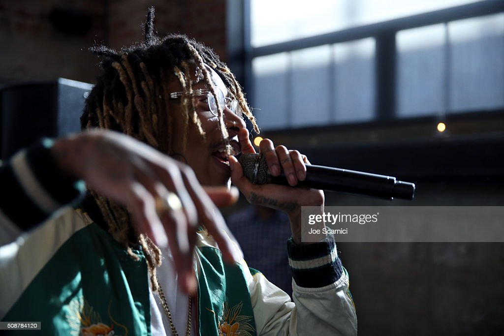 Rapper <a gi-track='captionPersonalityLinkClicked' href=/galleries/search?phrase=Wiz+Khalifa&family=editorial&specificpeople=7183449 ng-click='$event.stopPropagation()'>Wiz Khalifa</a> performs during the Fanatics Super Bowl Party on February 6, 2016 in San Francisco, California.