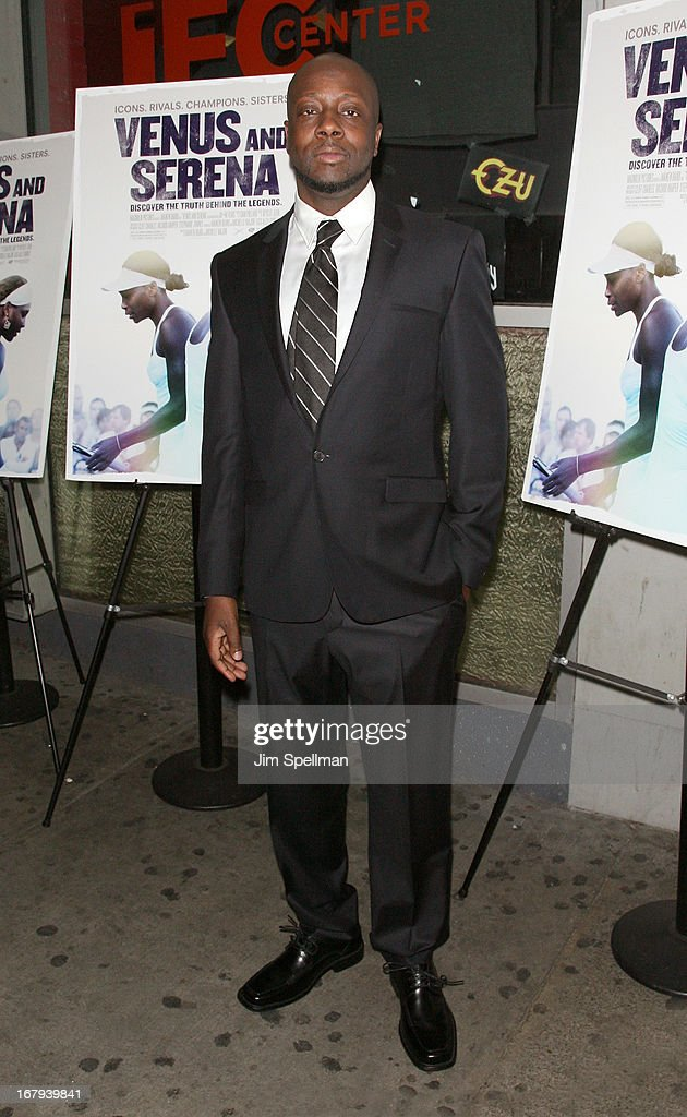 Rapper <a gi-track='captionPersonalityLinkClicked' href=/galleries/search?phrase=Wyclef+Jean&family=editorial&specificpeople=171115 ng-click='$event.stopPropagation()'>Wyclef Jean</a> attends the 'Venus And Serena' New York Screening at IFC Center on May 2, 2013 in New York City.